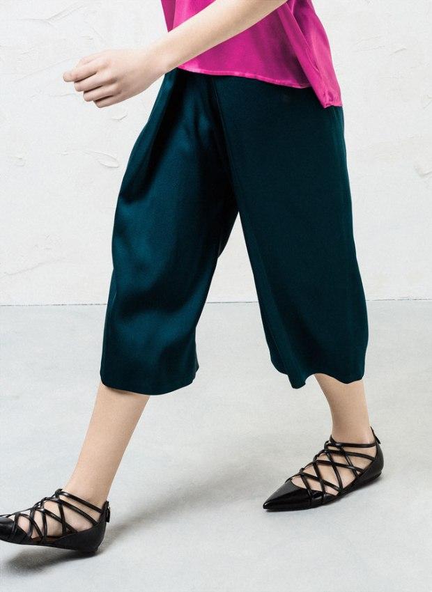 lace up flats uterqüe moda tendencias ss15 bailarinas heelsandpeplum