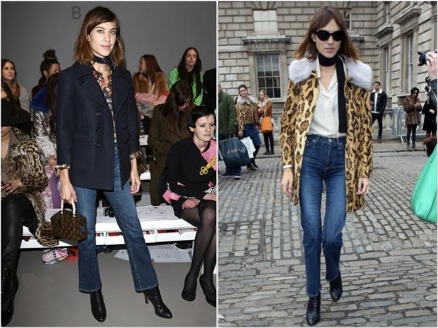 Alexa-Chung flare jeans streetstyle heelsandpeplum