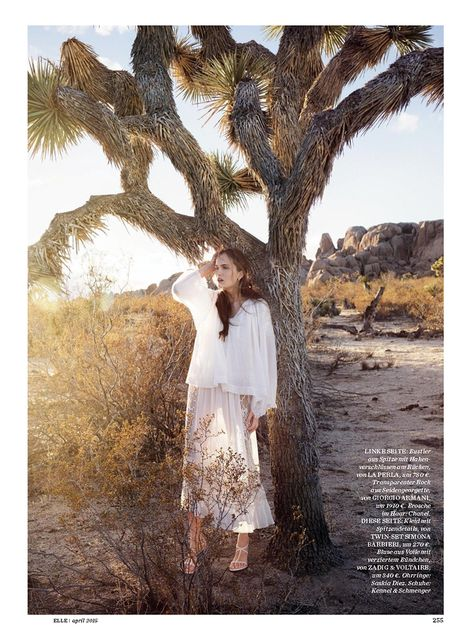 Alla Kostromichova by Gregor Hohenberg for Elle Germany April 2015_1