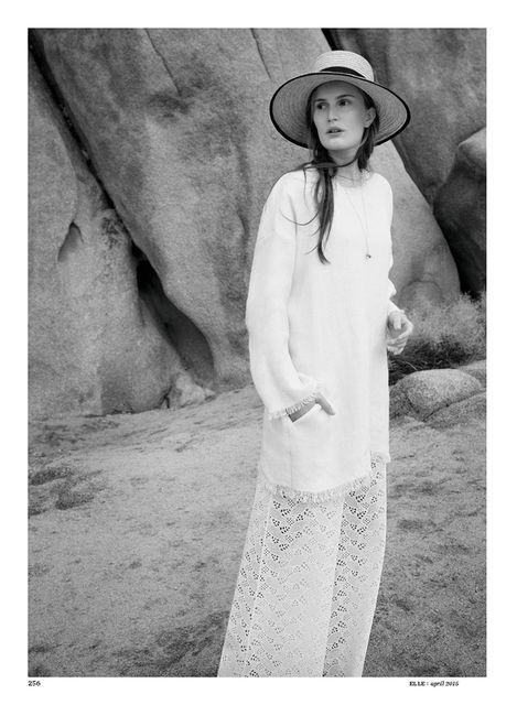 Alla Kostromichova by Gregor Hohenberg for Elle Germany April 2015_3