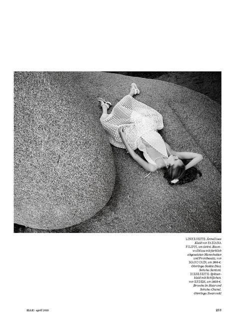 Alla Kostromichova by Gregor Hohenberg for Elle Germany April 2015_6