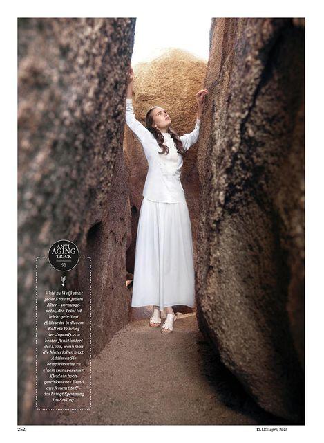 Alla Kostromichova by Gregor Hohenberg for Elle Germany April 2015_7