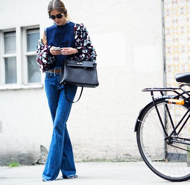 flare jeans trend streetstyle heelsandpeplum