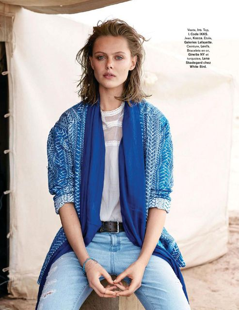 Frida Gustavsson by Benjamin Vnuk for Glamour France May 2015 5