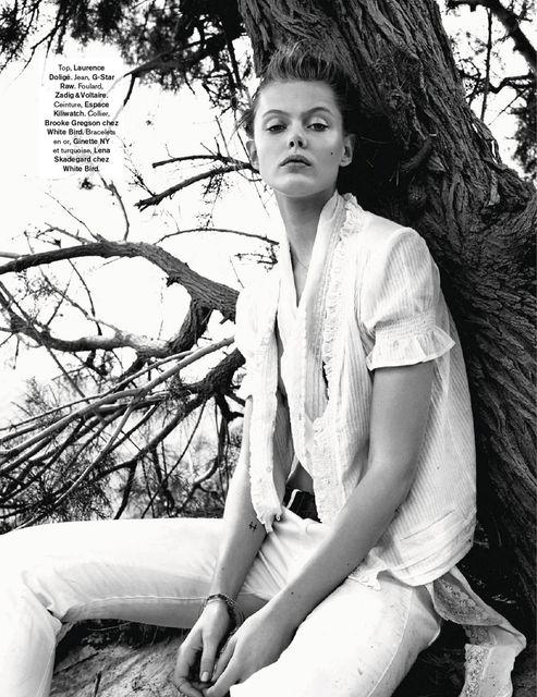 Frida Gustavsson by Benjamin Vnuk for Glamour France May 2015 6