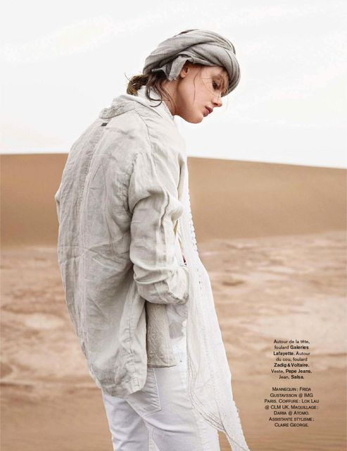 Frida Gustavsson by Benjamin Vnuk for Glamour France May 2015 7