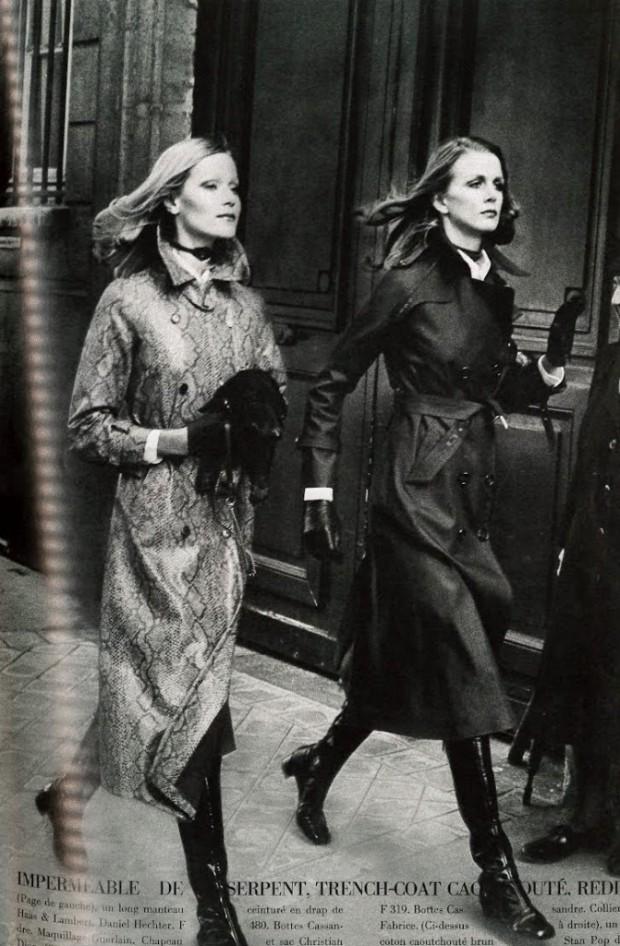 Helmut Newton Vogue Paris 1970