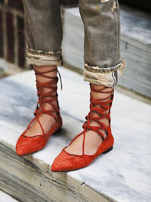 lace up flats heelsandpeplum fashion 6