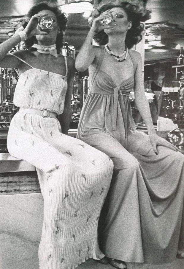 fashion 70s inspiration Hans Feurer, 1975