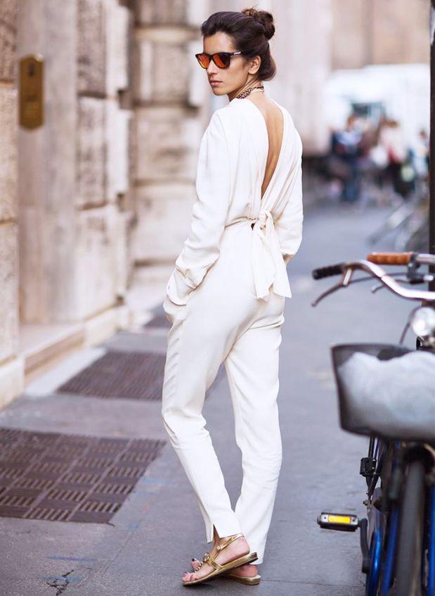 street style mono white jumper elegance sophistication heelsandpeplum blog