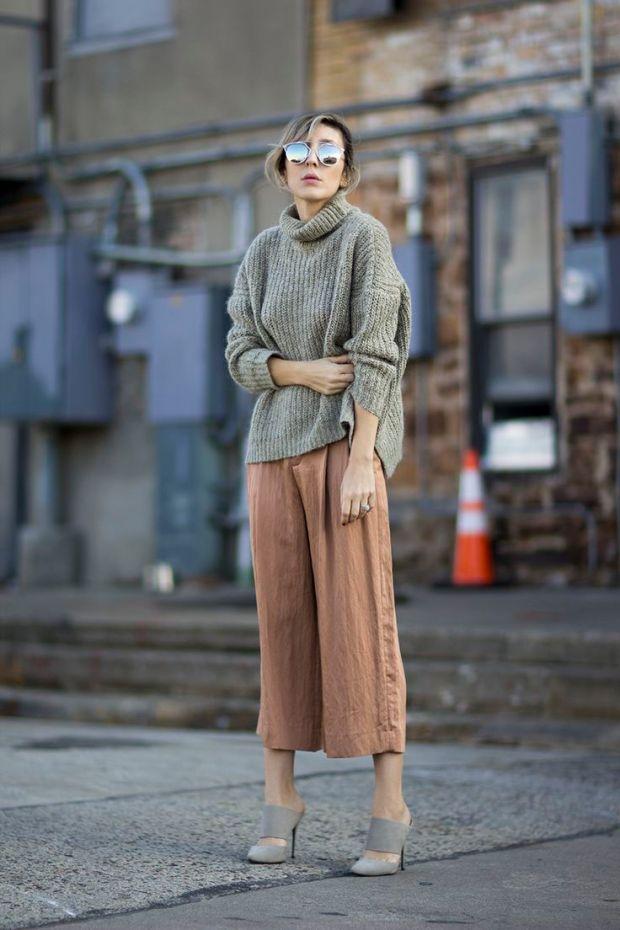 streetstyle elegance sophistication heelsandpeplum blog culottes
