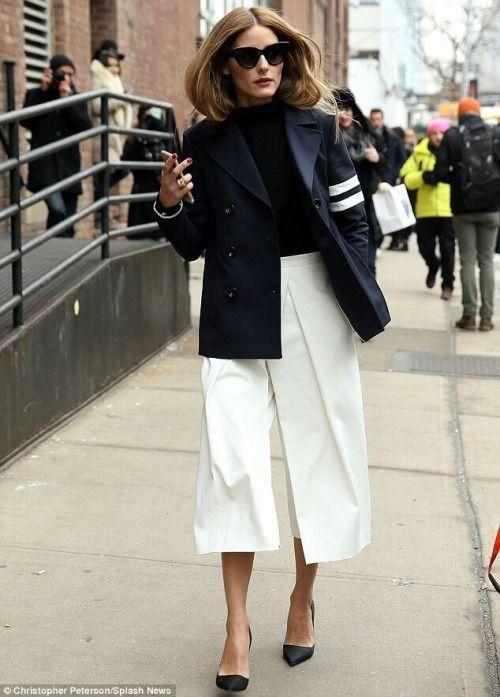 streetstyle elegance sophistication heelsandpeplum blog olivia palermo white culottes
