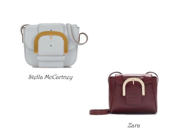 Clon bolso Stella McCartney Zara heelsandpeplum