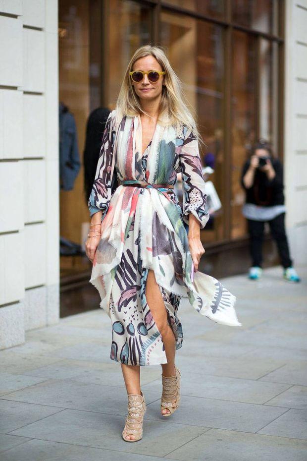 heelsandpeplum bohemian dress streetstyle burberry fashion 5