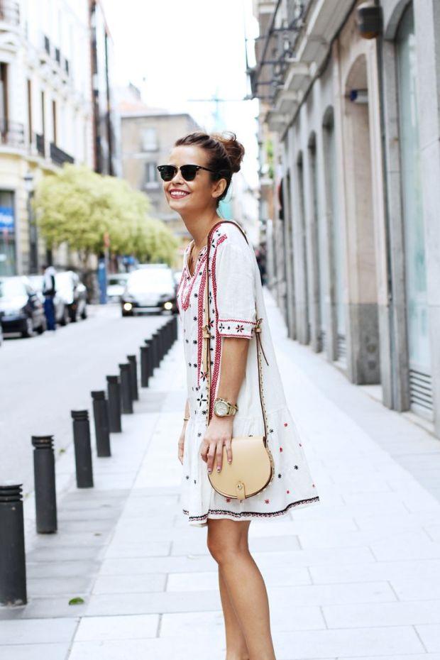 heelsandpeplum bohemian dress streetstyle fashion 6