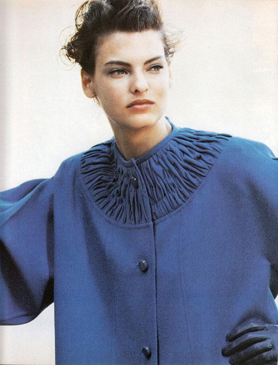 linda evangelista 90s fashion