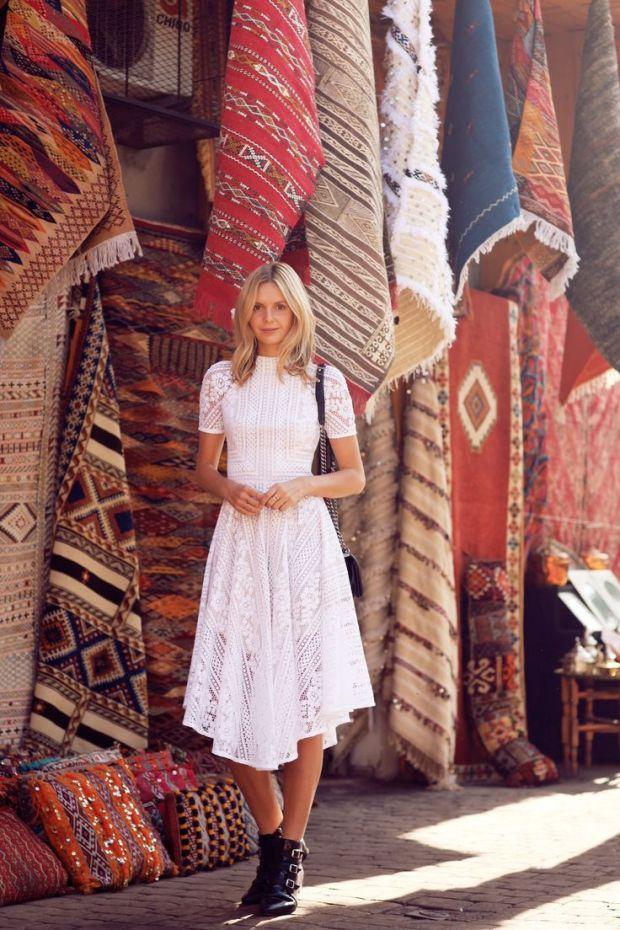 tuula vintage  bohemian dress streetstyle fashion