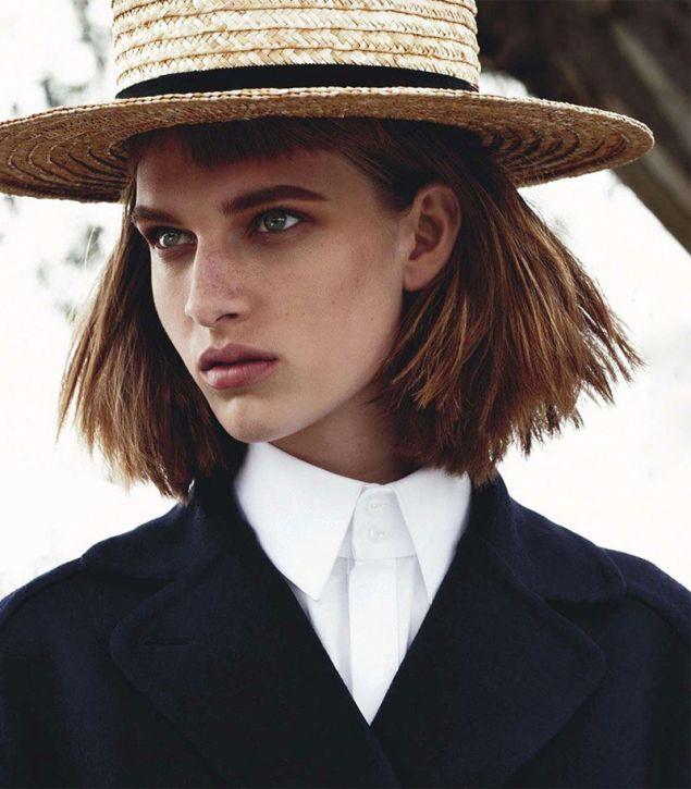 canotier moda estilo heelsandpeplum style parisian fashion 14